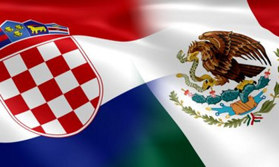 Croatia v Mexico